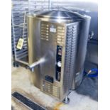 Market Forge 60 Gallon S/S Gas-Fired Kettle Model F-60GLS S/N 62552-6X-3678 Rigging Fee $ 100