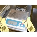 (3 pieces) Taylor, Escali, and Rubbermaid Digital Scales Rigging Fee $ 10