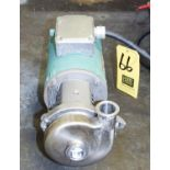 """Ampco 1.5 HP Pump with 3,450 RPM Motor and 1.5"""" x 1.5"""" Head, Clamp Type Rigging Fee $ 25"""