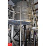 S/S Spray Dryer 100 Liquid kg/hr Input at 20% Solids at 400° F, 20kg/hr Powder Output at 200°F -