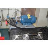 Seattle Triplex Reciprocating High Pressure Pump, 4.56 GPM, S/N 8AG781.1531G- Rigging Fee: $200