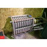 Schenk S/S Filter Press with (20) Plates and Dividers - Rigging Fee: $50