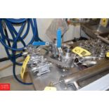 """1.5"""" to 2"""" 316 S/S Ball Valves, Clamp Type- Rigging Fee: $25"""