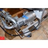 """Ampco 2 HP Pump with Sterling 1,750 RPM with S/S Clad Motor and 2"""" x 1.5"""" S/S Head, Clamp Type-"""