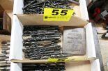 Lot 55 - ASSORTED DRILL BITS IN BOX