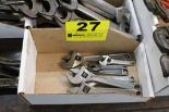 Lot 27 - ASSORTED CRESCENT WRENCHES IN BOX