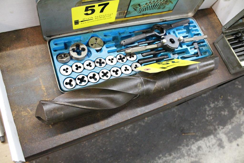 Lot 52 - LARGE TAPER SHANK DRILL BIT