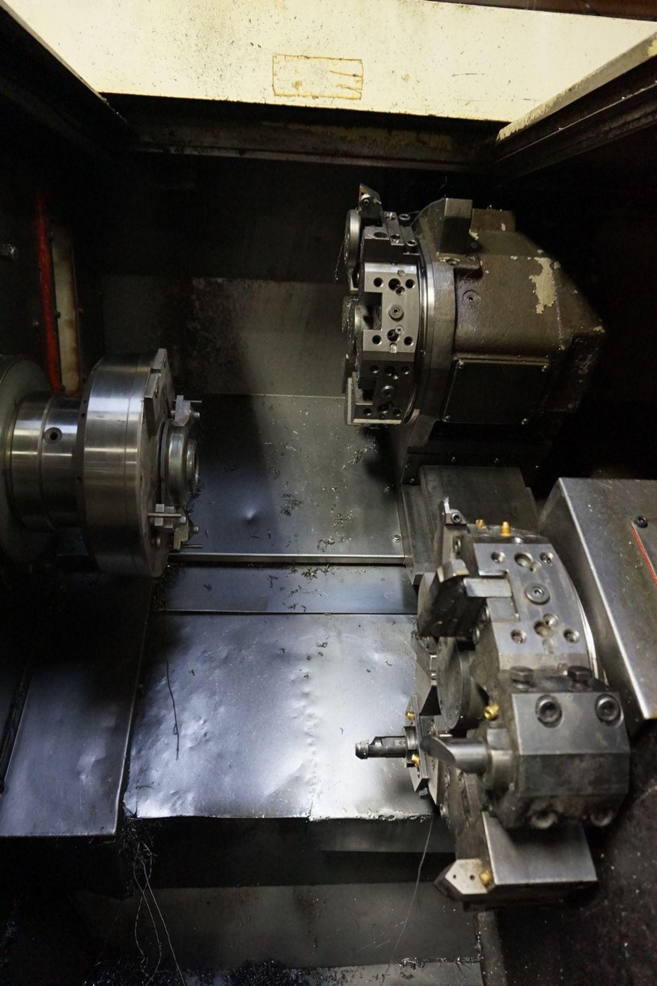 Okuma Model LCC15-2S CNC Lathe 220/240V c/w Chip Conveyor, Transformer - Image 4 of 11