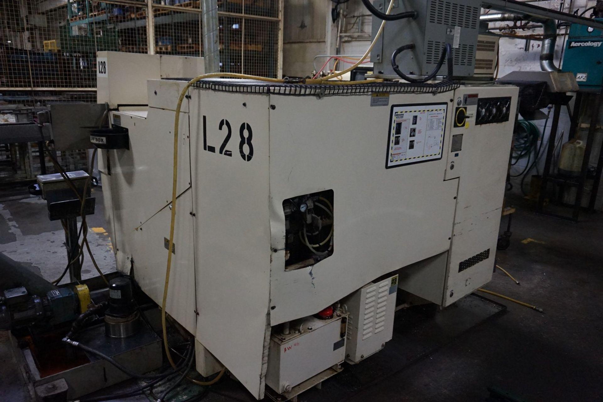 Okuma Model LCC15-2S CNC Lathe 220/240V c/w Chip Conveyor, Transformer - Image 8 of 11