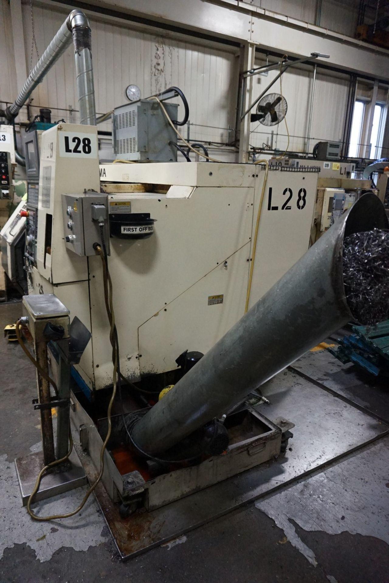 Okuma Model LCC15-2S CNC Lathe 220/240V c/w Chip Conveyor, Transformer - Image 7 of 11