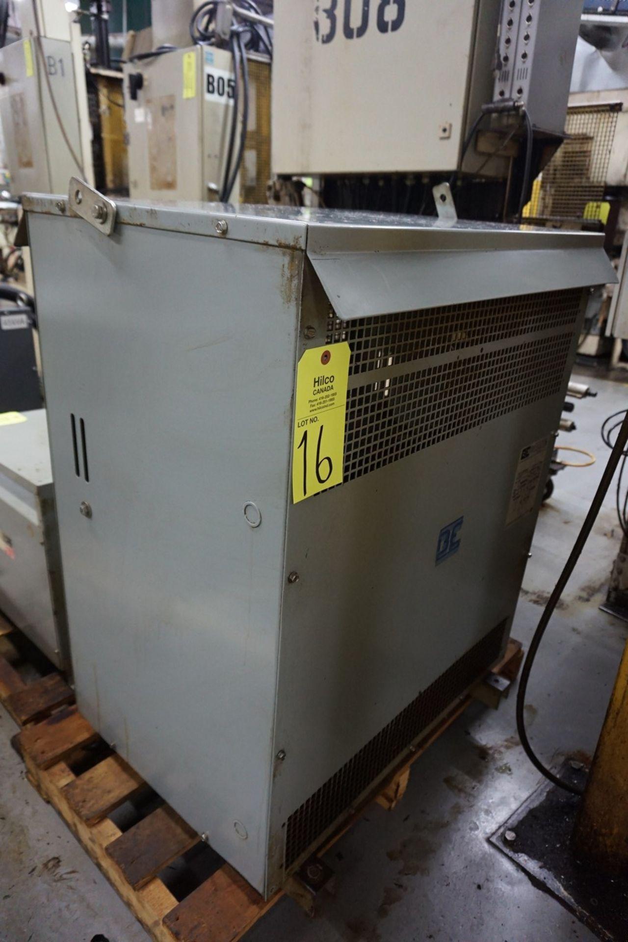 JVC Type 0H3-30C-375C 600V, 30 Kva Transformer