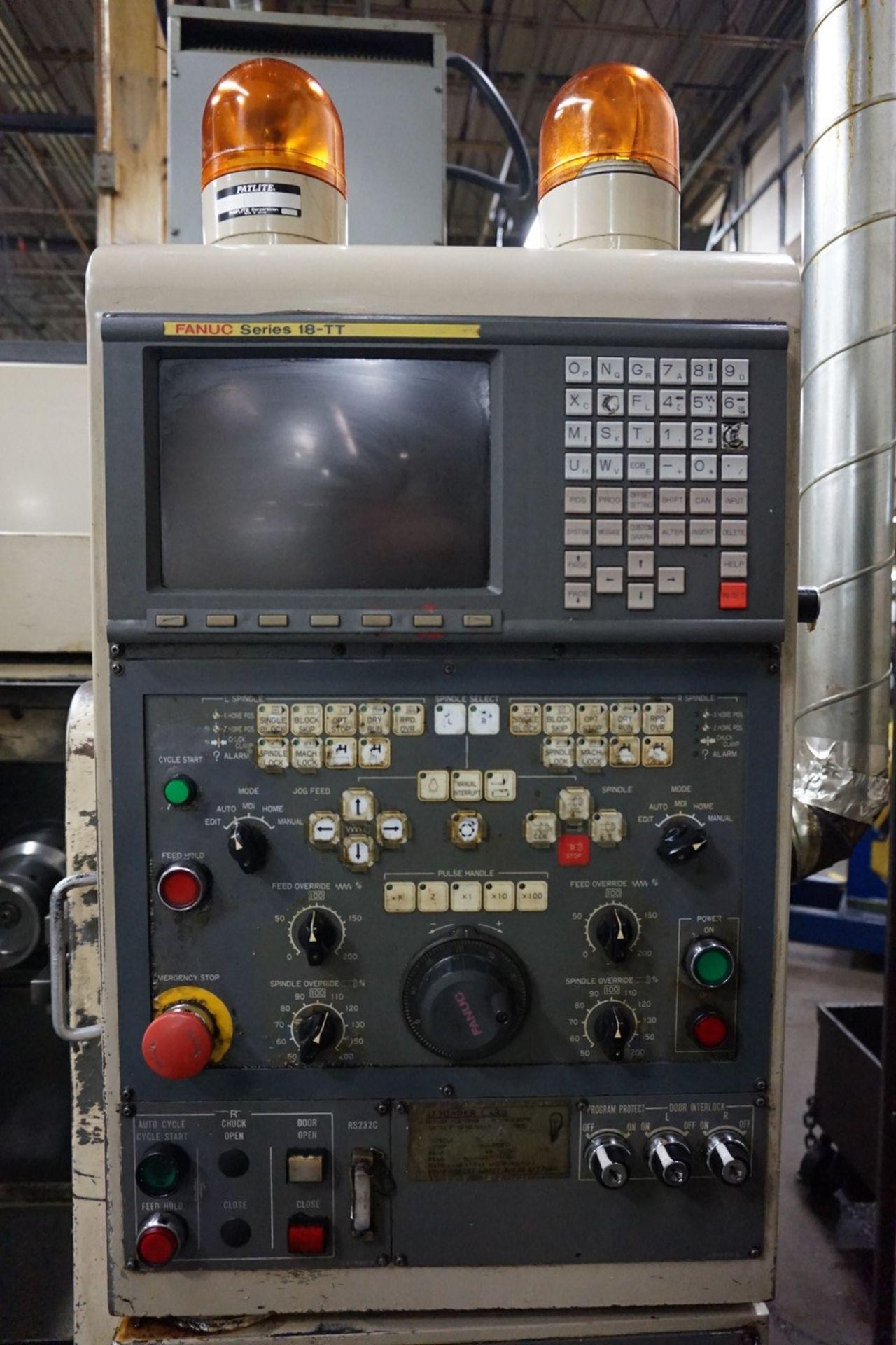 Okuma-Howa Model 2SP-15H CNC Lathe c/w Fanuc 18-TT Controller, Transformer - Image 2 of 6