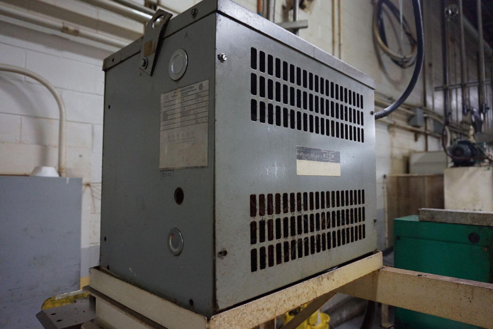 Takamatsu Model X10 CNC Lathe 200/220V c/w Chip Conveyor, Transformer - Image 6 of 6