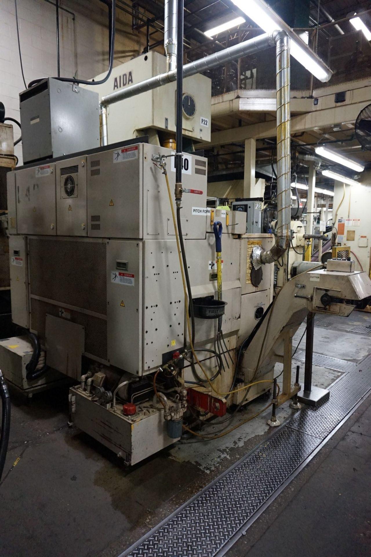 Okuma-Howa Model 2SP-15H CNC Lathe c/w Fanuc 18-TT Controller, Transformer - Image 4 of 6