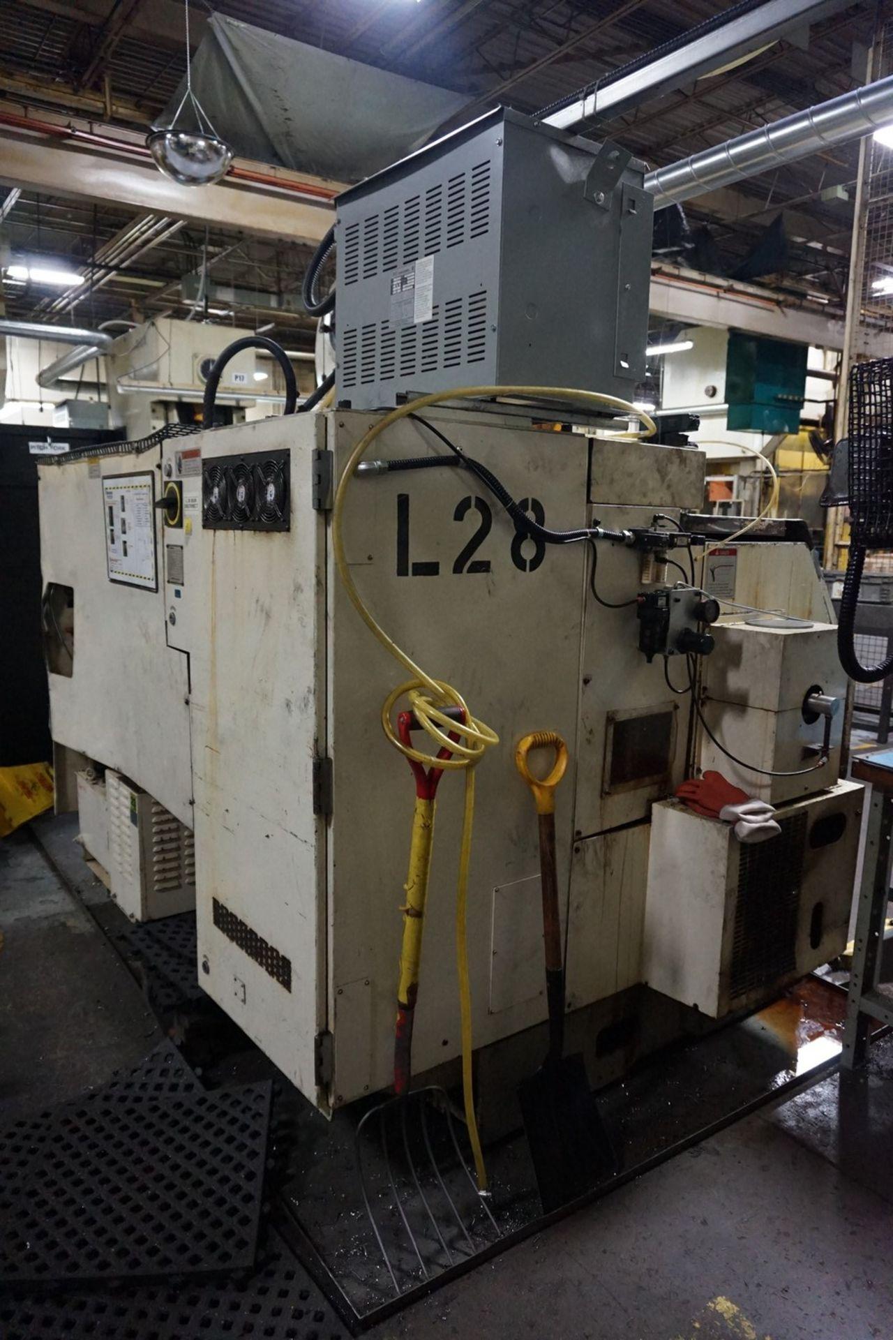 Okuma Model LCC15-2S CNC Lathe 220/240V c/w Chip Conveyor, Transformer - Image 5 of 11