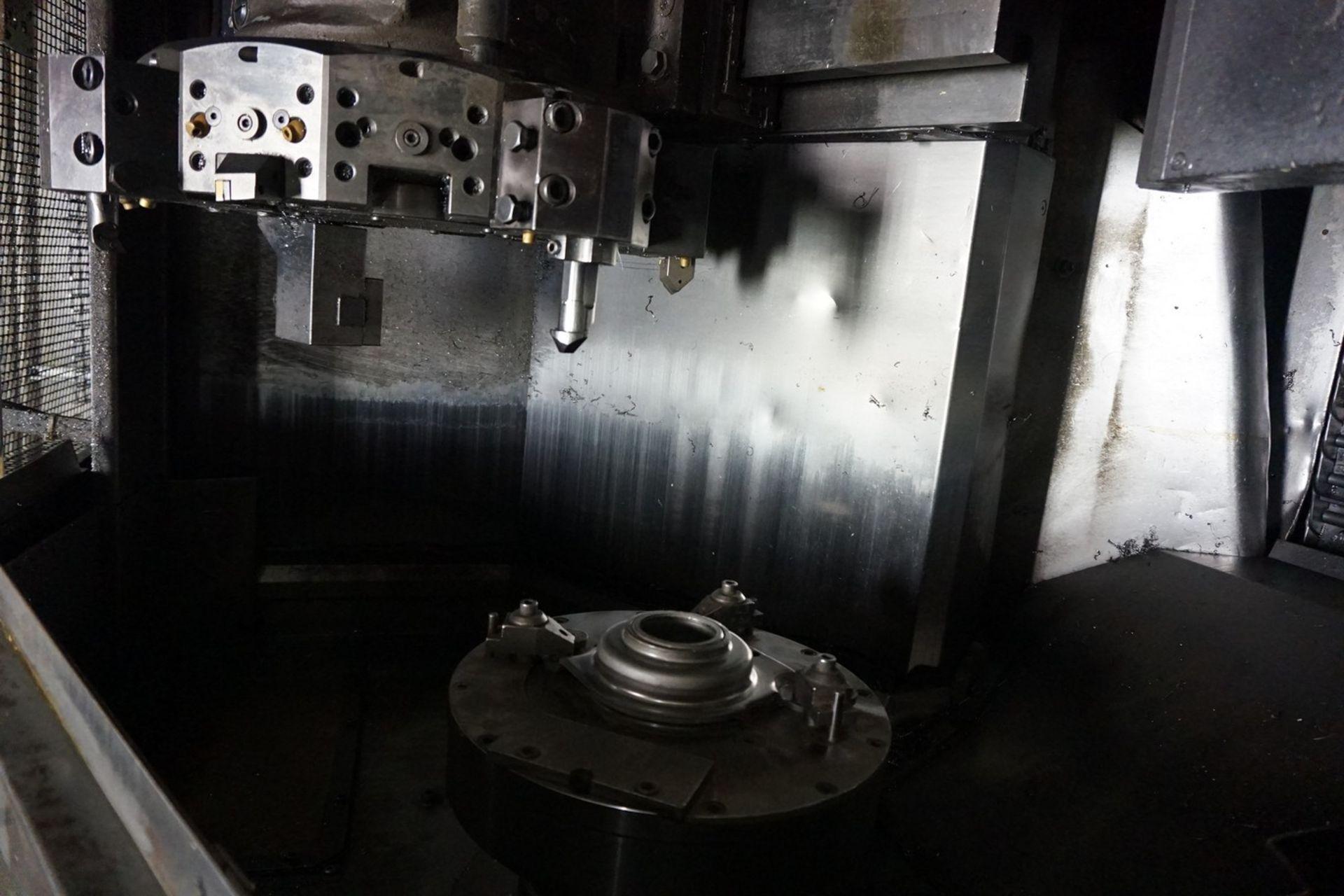 Okuma Model LB15 CNC Lathe 220/440V with Enomoto Chip Conveyor, Transformer - Image 3 of 6