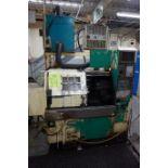 Takamatsu Model X10 CNC Lathe 200/220V c/w Chip Conveyor, Transformer