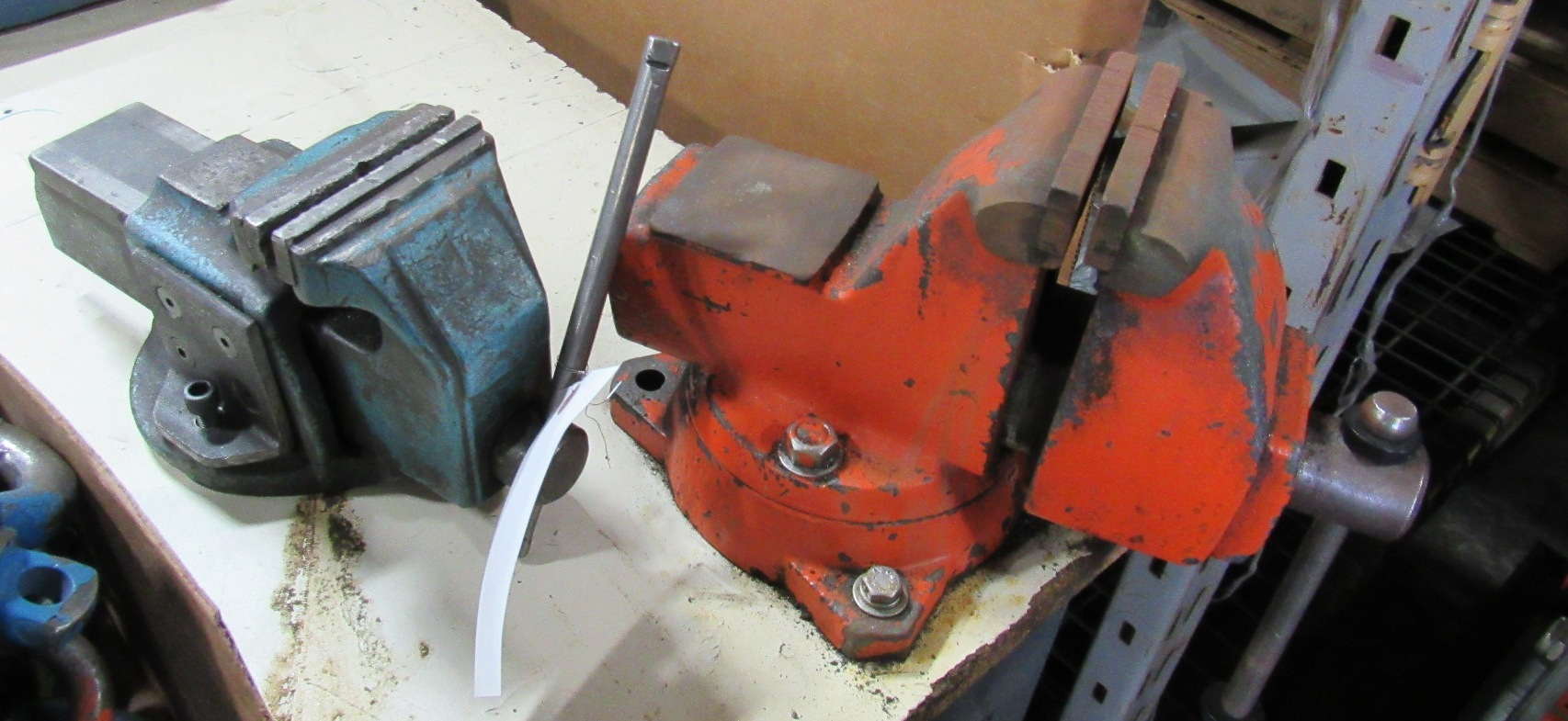 "Lot 47B - 2- 4"" Bench Vises"