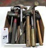 Lot 24 - Lot Asst Hammers