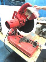 "Lot 43 - 14"" Milwaukee Abrasive Saw"