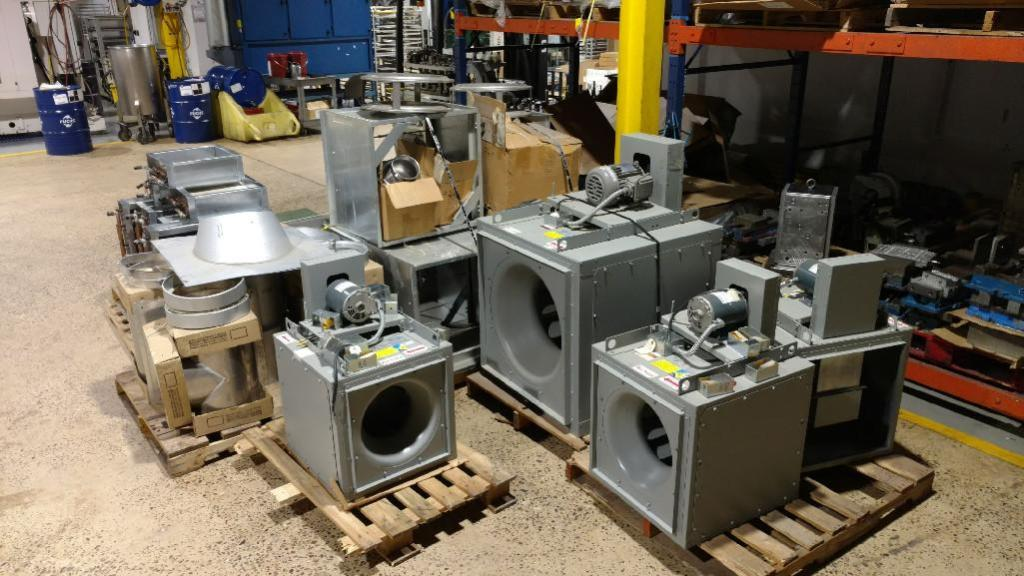 Lot 1 - (3) Unused Skymark Packaged Air Conditioning Systems (1) 12-Ton, (2) 8-Ton