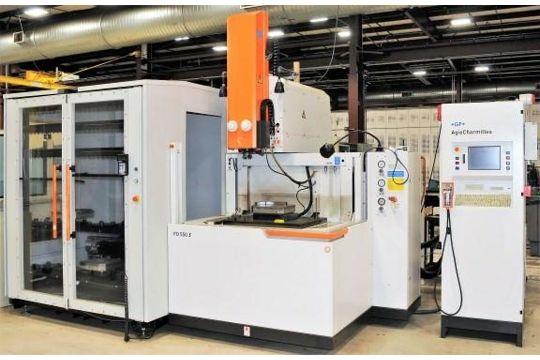 CHARMILLES TYPE FO-550S CNC EDM, WITH AGIE CHARMILLES CNC CONTROL ...