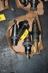 Lot 47 - (4) #50 TAPER TOOL HOLDERS (LOCATED IN HARRISON, NEW JERSEY)