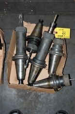 Lot 33 - (5) #50 TAPER TOOL HOLDERS (LOCATED IN HARRISON, NEW JERSEY)