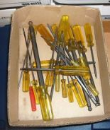 Lot 55 - BOX OF ASSORTED BALL HEAD DRIVERS