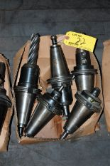Lot 22 - (5) #50 TAPER TOOL HOLDERS (LOCATED IN HARRISON, NEW JERSEY)