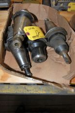 Lot 12 - (4) #50 TAPER TOOL HOLDERS (LOCATED IN HARRISON, NEW JERSEY)
