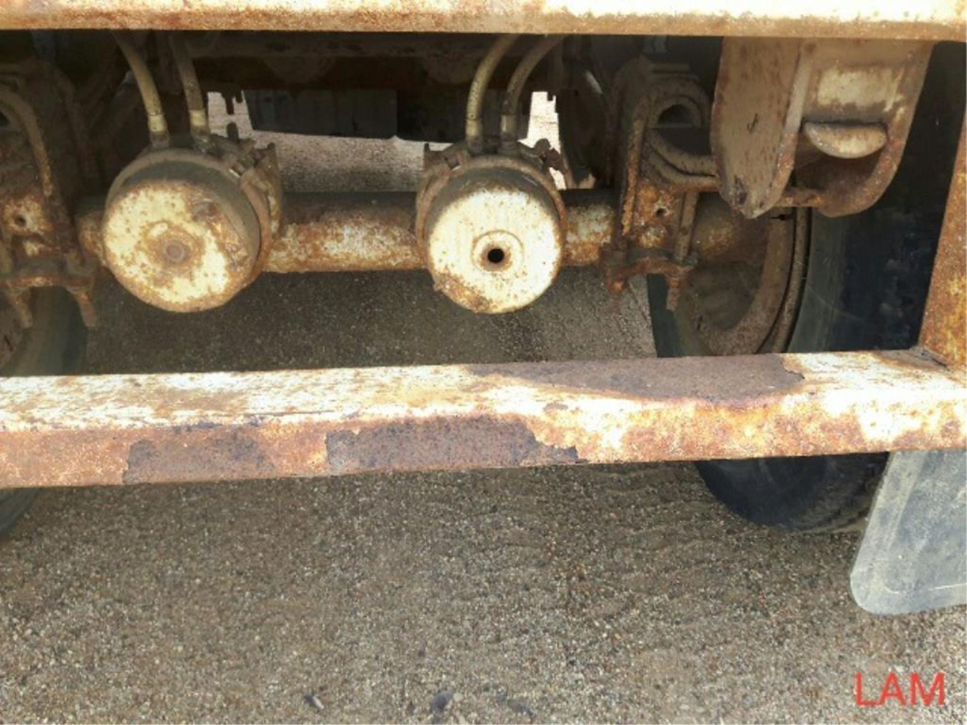 1981 Lode T/A Grain Trailer sn HGT380681K123 Lot # ,& Selling on choice - Image 6 of 9