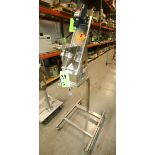 2006 Rheon Double Dual Filling Pump Feeder, Model 3NVL10X, S/N 145415, Mounted on Portable Stand
