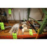 (2) Fisher Scientific and (1) Cfaramo Angle Type Lab Mixers with Omni TH Hand-Held Homogenizer
