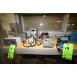 (7) Pcs - Assorted Lab Speed Controllers by Fisher Scientific, GKH, Thermolyne, Cole Palmer &