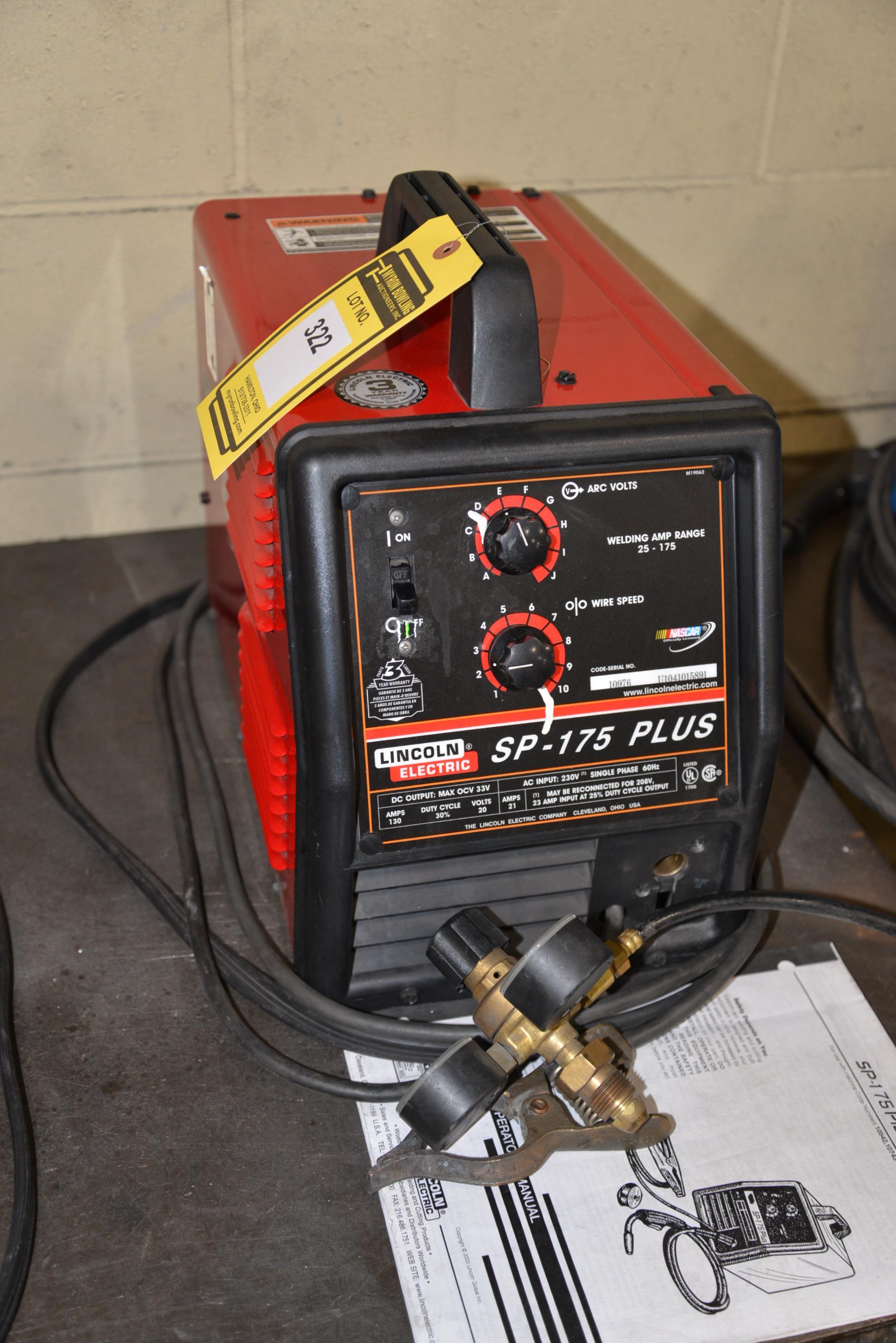 original thompson auction id welder plus en catalogue lincoln catalogues sp us mig auctioneers lot