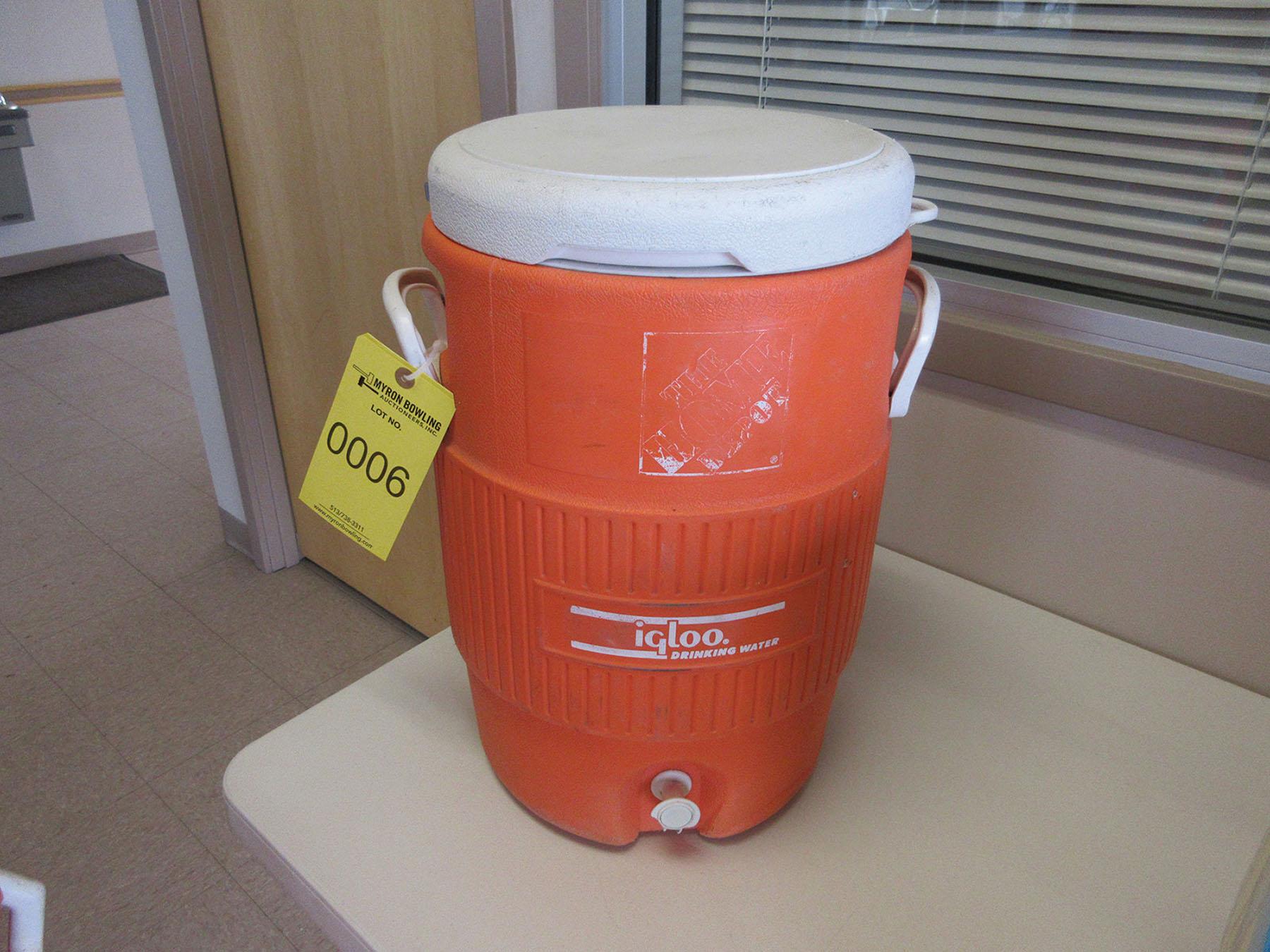 Lot 6 - IGLOO 5-GALLON WATER COOLER