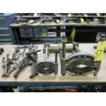 LOT OF WHEEL PULLERS, assorted