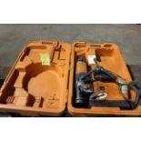 "AUTO MAGNETIC BASE DRILL, SLUGGER 3-1/8"" MDL. JCM312, w/auto feed & storage case"