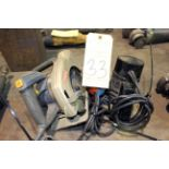 LOT CONSISTING OF: wood tools, skillsaw, router, jig saw