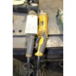 """LOT OF ELECTRIC ANGLE GRINDERS, 4"""""""