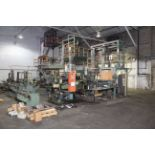 BLOWN FILM BAG EXTRUSION LINE WITH 2-COLOR PRINTER, consisting of: Ilie Machinery Mdl. EPDH55