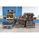 LOT OF MISC. PALLETS