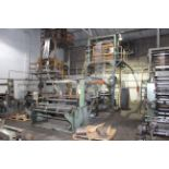 BLOWN FILM BAG EXTRUSION LINE WITH 1-COLOR PRINTER, consisting of: Ilie Machinery Mdl. FPLA-55MM