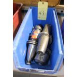 LOT OF CAT-50 TOOLING, approx. 5 (in one bin)