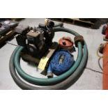 "TRASH PUMP, BRIGGS & STRATTON 2"", 3.5 HP, w/hose"