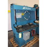 DOWNDRAFT WORKBENCH, AIRFLOW SYSTEMS, 3 phase, 3 HP, S/N 1032758 (Asset 001164) (Location 1 -