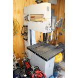 VERTICAL BANDSAW, MSC, blade welder/grinder, S/N N.A. (Location 4 - Park Row)