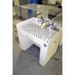 DOWNDRAFT TABLE, AIRFLOW SYSTEMS MDL. EASY BENCH, w/small belt sander (Location 2 - Fallstone A)