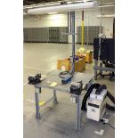 CLAMP TABLE, w/Hako Mdl. HJ3100 Fume Extractor (Location 2 - Fallstone A)